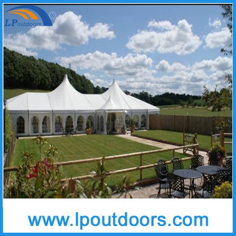 Outdoor Clear Span High Peak Party Marquee Wedding Tent