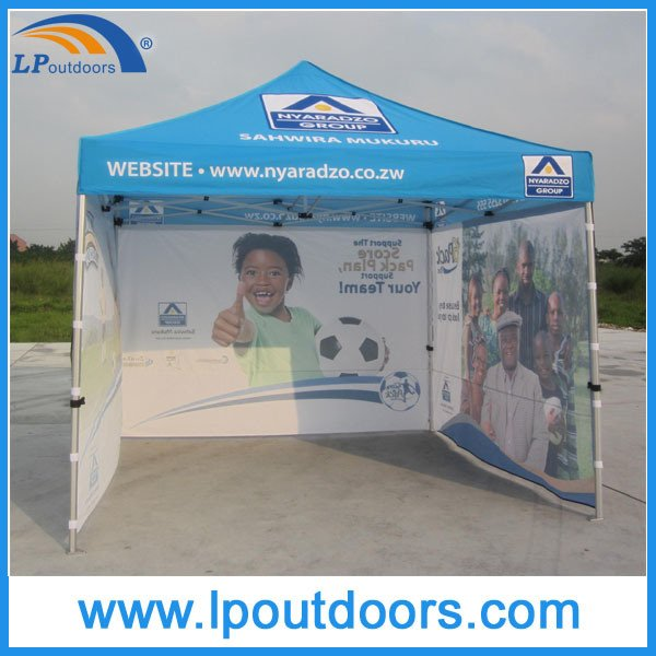 3X3m High Quality Hexagon Aluminum Logo Advertising Tent