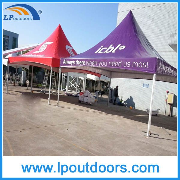 6X6m Outdoor Aluminum Frame Spring Top Tension Tent