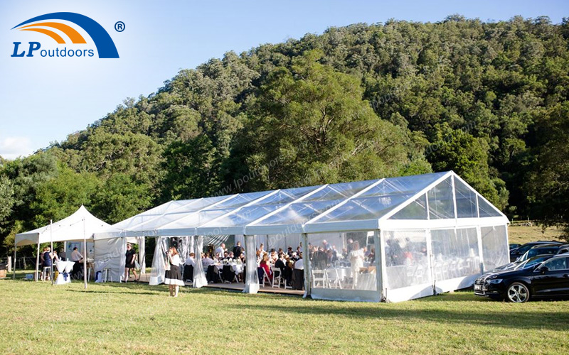 Aluminum Large Outdoor Transparent Wedding Tent
