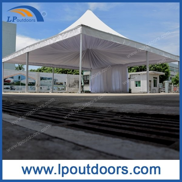 Outdoor Luxury Marquee Pagoda Tent with Lining for Wedding