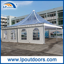10X10m Outdoor Luxury Clear Roof Lining Party Wedding Pagoda Tent