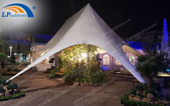 A Big Nostalgic Event Held In A Customized Star Tent In Eastern Europe