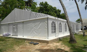Liping party tent for one of Tanzania customer wedding event