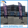 2.8m Decorative Feather Flag Custom Printing for Advertising
