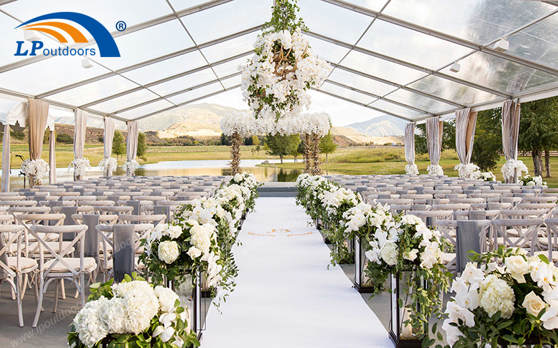 Aluminum Clear Top Outdoor Wedding Tent (2)