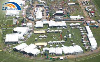 LPoutdoors Aluminum Sport Event Tent Made Preakness Stakes Successfully