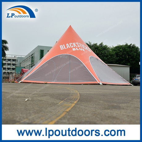 Dia10m Customized Printing Event Star Tent