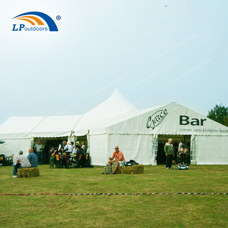 customized large outdoor temporary sunshade waterproof aluminum business tent for beer festival-1