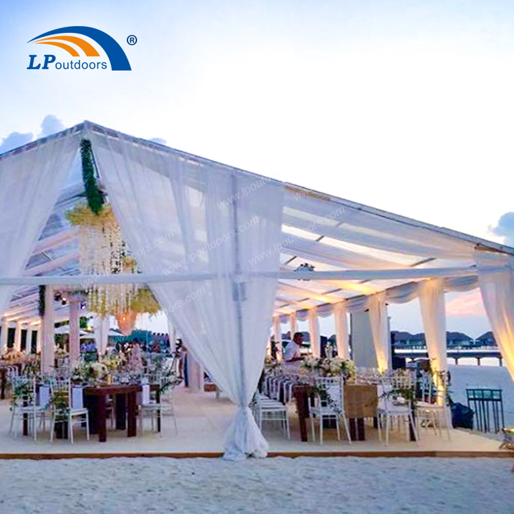 Customized Transparent Canopy Outdoor Deluxe Garden Wedding Tent-1